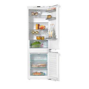 réfrigérateur congélateur avec congélateur en bas / résidentiel / armoire / blanc