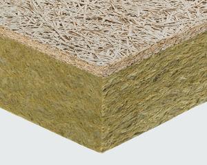 isolant thermique / thermo-acoustique / en laine de roche / en laine minérale