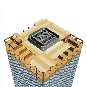 panneau structurel contrecollé / pour bâtiment