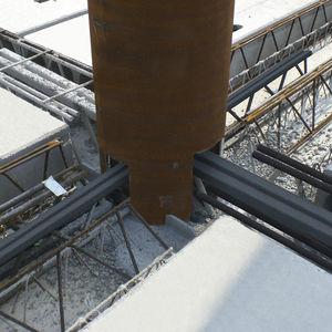 connexion structurelle en acier