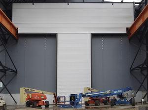 portes industrielles sectionnelles