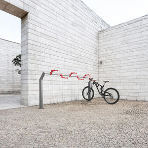 range-vélo en aluminium