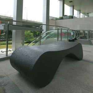 banc public design organique