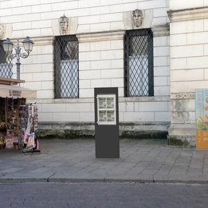 totem publicitaire / pour espace public