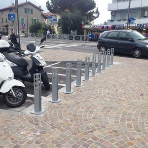 range-vélo en acier galvanisé / en acier inoxydable / design original / pour espace public
