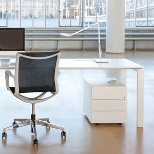 caisson de bureau en acier / à 3 tiroirs / à 2 tiroirs / à roulettes