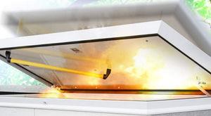 trappe de visite au toit / carrée / rectangulaire / en aluminium