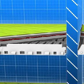 plancher poutrelles-hourdis / en béton / entrevous en polystyrène / avec isolant