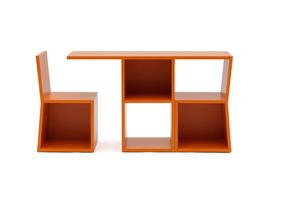 ensemble table et chaises contemporain