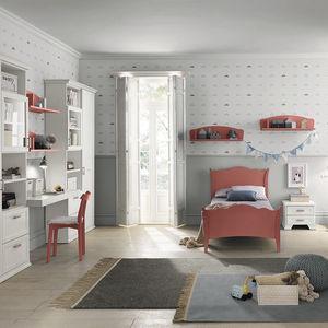 chambre d'enfant blanche