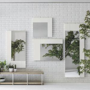 miroir mural / de chambre à coucher / de salon / contemporain