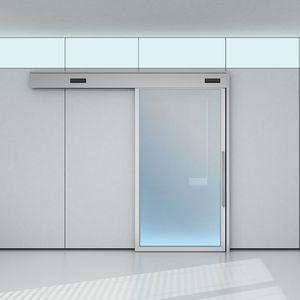 porte d'intérieure / coulissante / en bois / en verre