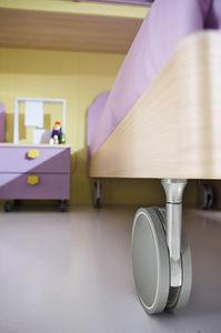 table de chevet contemporaine / en bois / rectangulaire / pour enfant