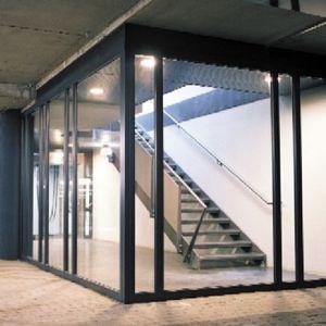 panneau de construction en verre