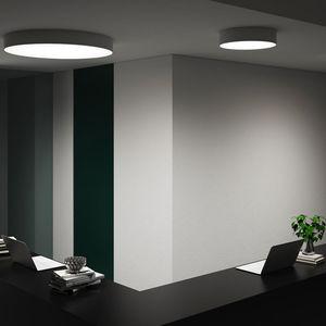plafonnier contemporain / rond / en aluminium / en polycarbonate