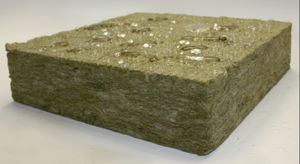 isolant acoustique / en laine minérale / pour intérieur / en panneaux rigides