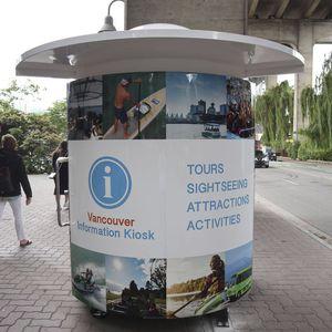 kiosque d'information