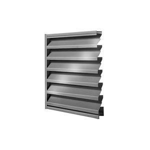 grille de ventilation en acier galvanisé