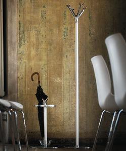 porte-parapluie en aluminium / en acier peint / en fonte / par Michele de Lucchi