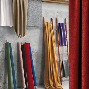 tissu pour rideaux / mural / uni / en polyester