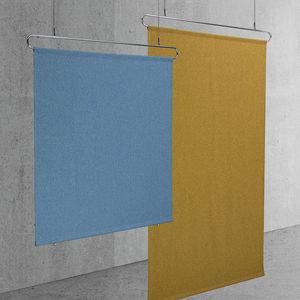 tissu pour cloison et faux-plafond / uni / en polyester / acoustique