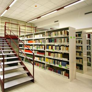 rayonnage mobile pour bibliothèque