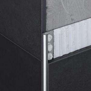 profilé de finition en acier inox