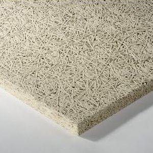 panneau acoustique pour faux-plafond / mural / en laine de bois / en laine minérale
