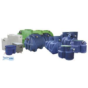 séparateur à hydrocarbures en polyéthylène