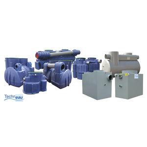 séparateur à hydrocarbures en acier