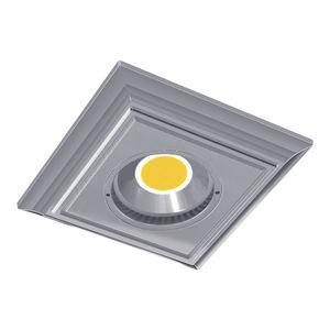 downlight encastré / à LED / carré / en métal