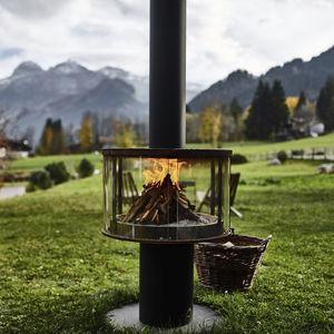 cheminée d'extérieur