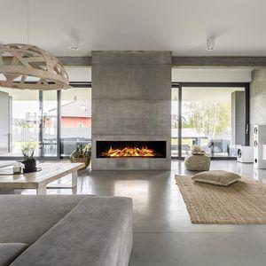 cheminée électrique / contemporaine / à foyer ouvert / encastrable