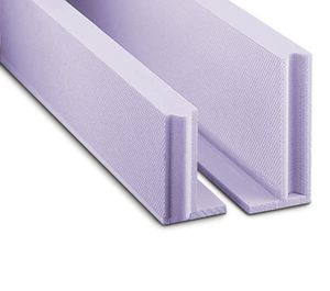 bloc de coffrage en polystyrène / pour plancher / pour dalle de béton de plancher / isolant