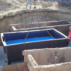 station d'épuration de eau de pluie