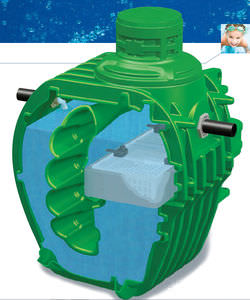 micro station d'épuration d'eau / en polyéthylène