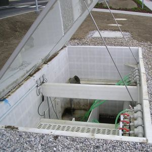 station d'épuration d'eau