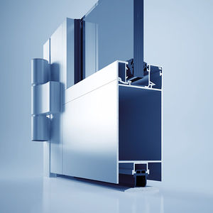 profilé pour porte en aluminium / coupe-feu