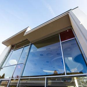 profilé en aluminium / pour mur-rideau / pour façade / à montant et traverse