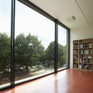profilé pour fenêtre en aluminium / à coupure thermique / acoustique / antieffraction
