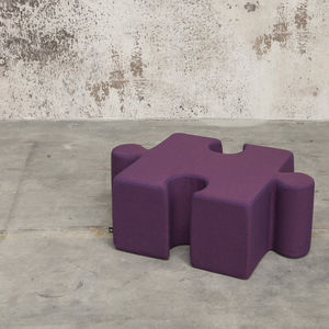 pouf contemporain