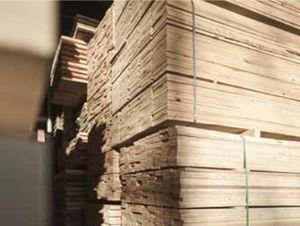 panneau en bois de construction