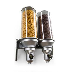 distributeur de produits alimentaires secs sur plan