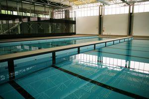 mur mobile pour piscine public