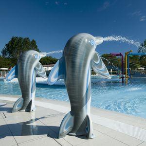 fontaine pour parc aquatique