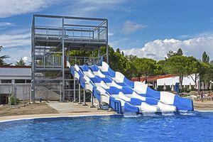 toboggan droit / tournant / pour parc aquatique / multiple