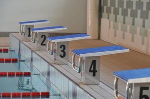 starting block pour piscine publique