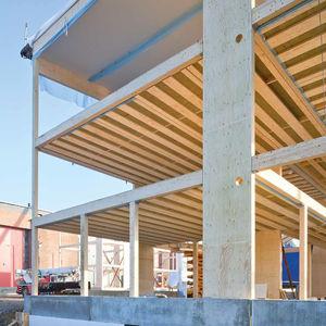 panneau structurel en béton / en béton armé / en lamibois / en acier inox