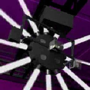 projecteur scan avec lampe halogène