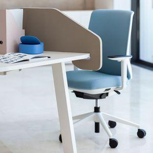fauteuil de bureau contemporain / en tissu / à hauteur réglable / ergonomique
